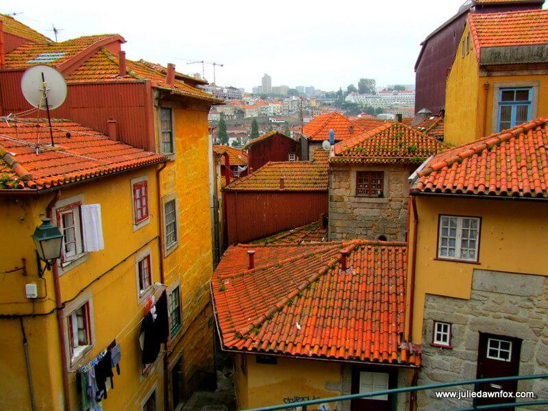 Colourful medieval houses, Porto