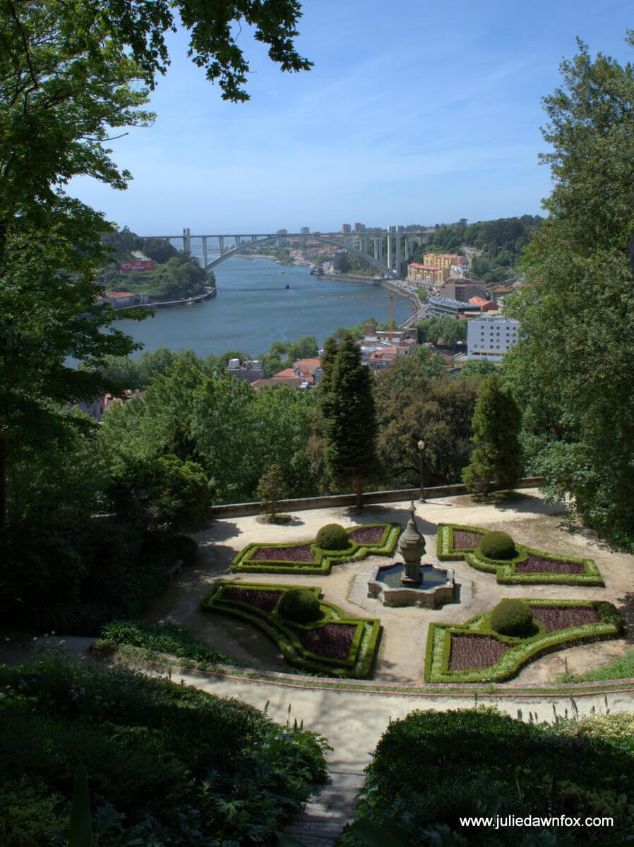 View down the Douro from Jardins de Palácio Cristal, Porto