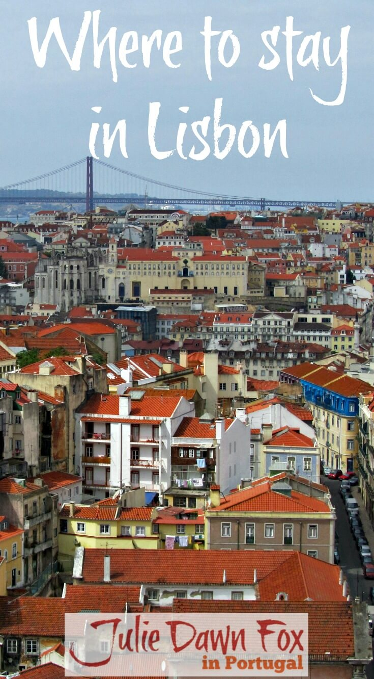 Where to stay in Lisbon city centre. Best hotels and apartments in Lisbon neighbourhoods