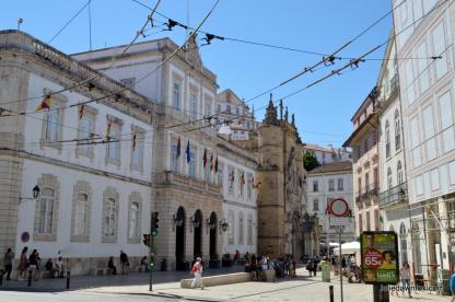 Town Hall and Baixa, Coimbra