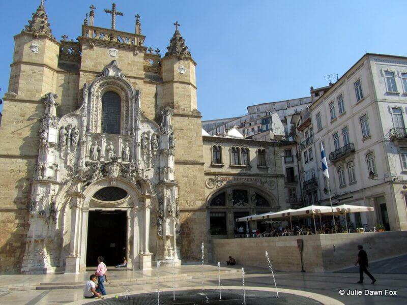 Santa Cruz chruch and Praça 8 de Maio, Baixa Coimbra