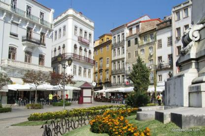 Largo da Portagem, Baixa de Coimbra. Where to stay in Coimbra