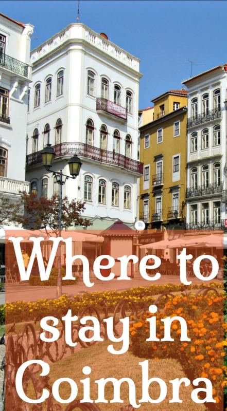 Where to stay in Coimbra. Best Hotels and Apartments in Coimbra