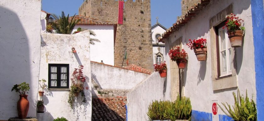 Mixed bag of architecture, Óbidos