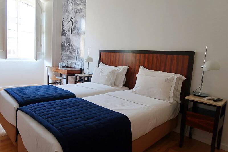 Twin room, Lisboa Prata Boutique Hotel