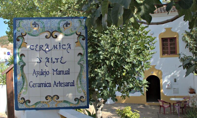 Ceramics workshop, Alte, Loulé, Algarve, Portugal.