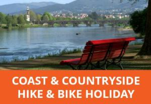 Get the best of the Minho's coast, countryside and towns on this self-guided holiday. Cycle along the River Lima, walk the Camino then hit the Atlantic coastline.