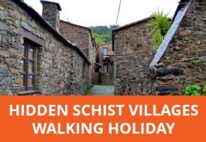 Hidden schist villages of Central Portugal.