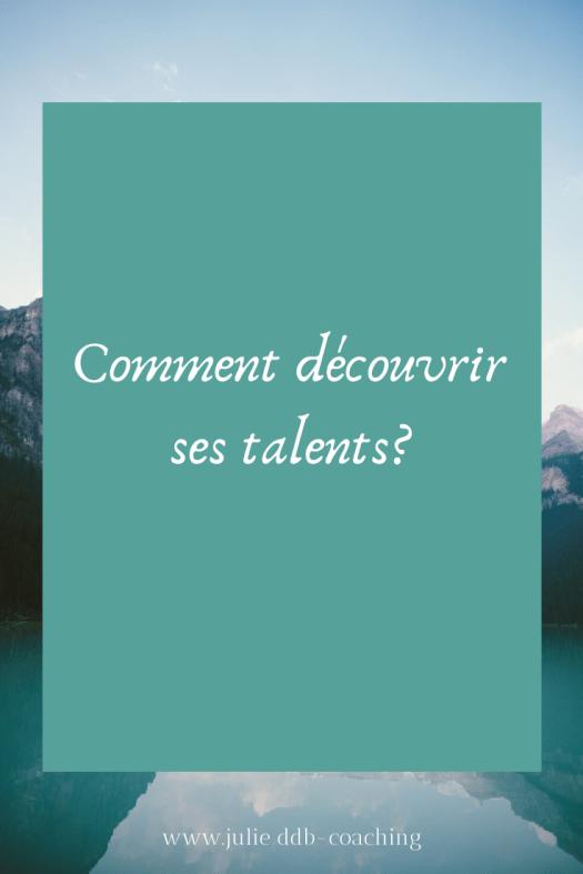 Comment découvrir ses talents?