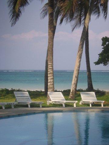 pool sea palms