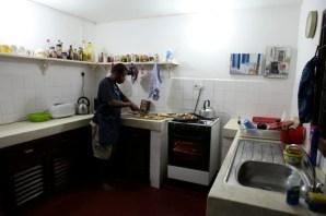 Reuben in the kitchen