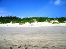 white beach to plot