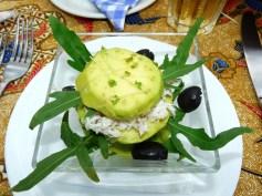 avocado crab starter