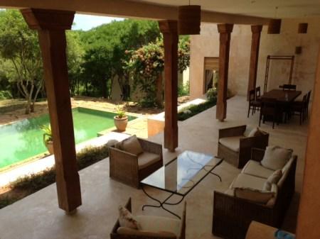 verandah from stairs