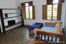 Bedroom as sitting rm