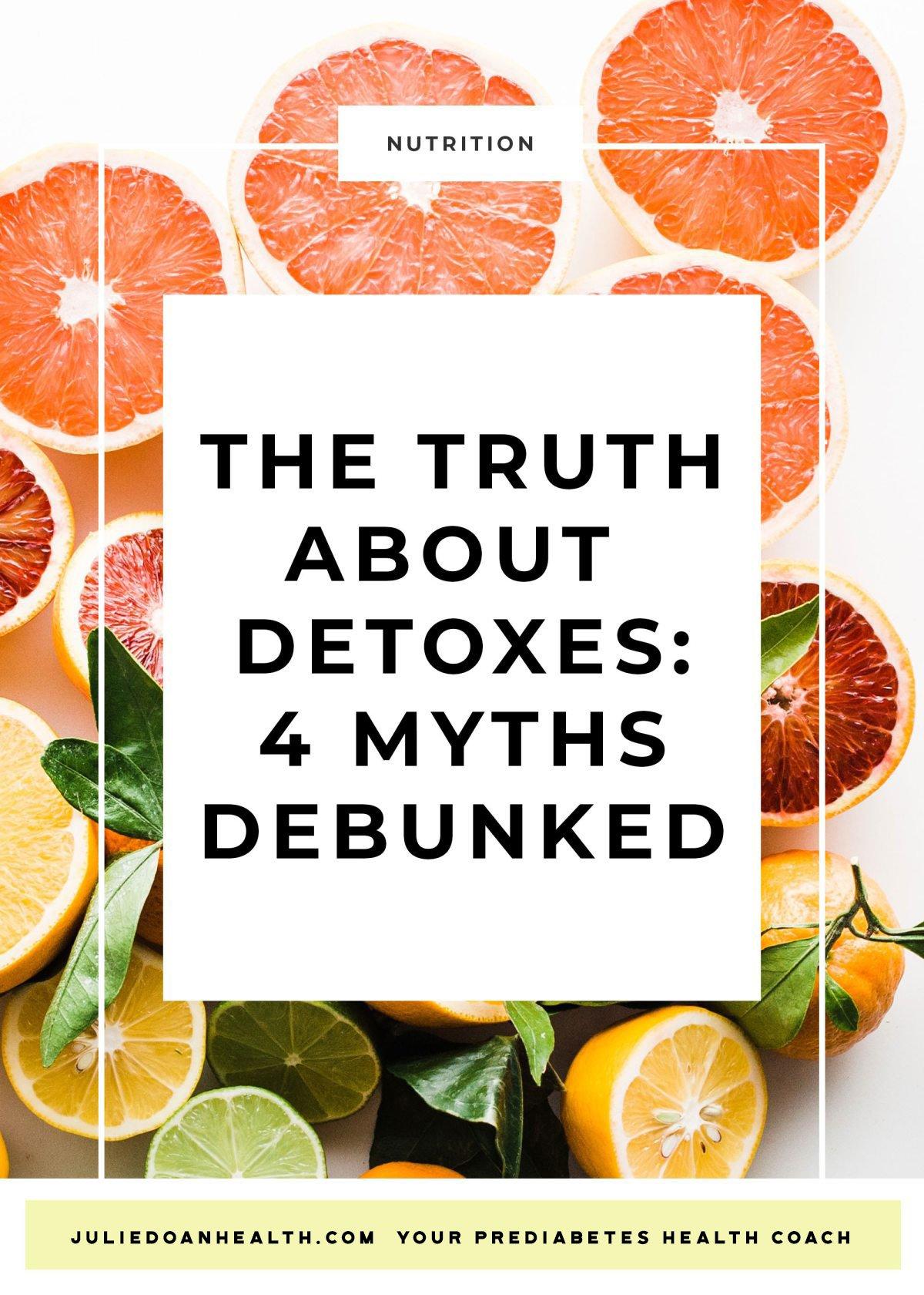 detox cleanse reverse prediabetes diabetes