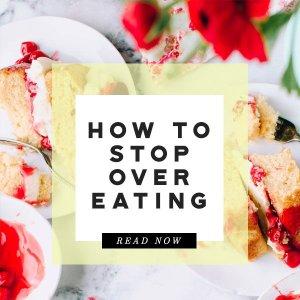 stop overeating prediabetes diabetes