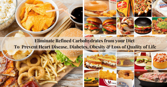 Eliminate Refined Carbohydrates to Prevent Disease & Obesity