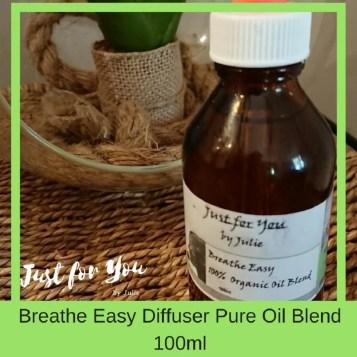 Breathe Easy Diffuser Oil Blend