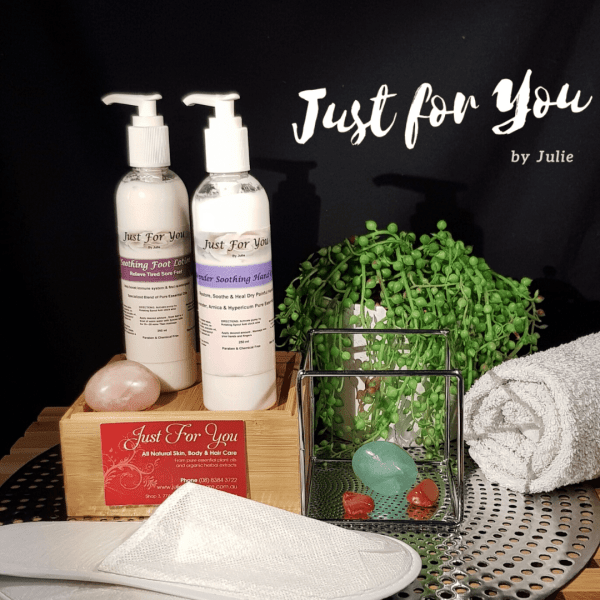 Soothing Hand and Foot Lotion Set