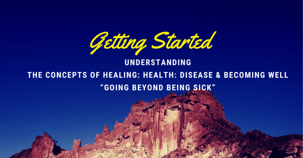 Getting Started: Understanding-the-Concepts-of-becoming-well