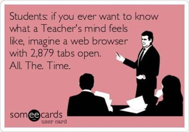 Busy Teachers - Too Many Tabs
