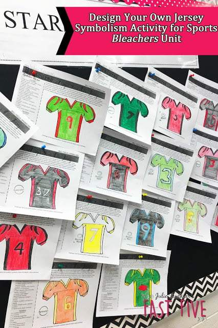 Design Your Own Jersey, Symbolism Activity, Sports, Football, English
