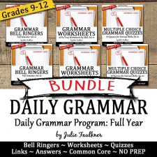 grammar bundle full year