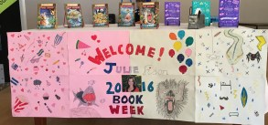 A glorious welcome at Sunbury State School Maryborough