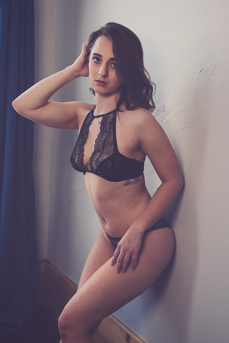 Boudoir-By-Julie-G-Photography-Katie against wall