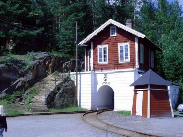 Silver Mine Entrance Osterlof, A.