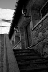 Fortress Steps B&W