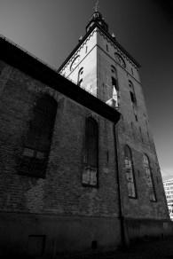 Oslo Church B&W