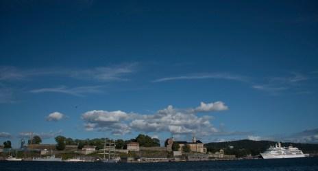 Oslo Fortress seaview Colour