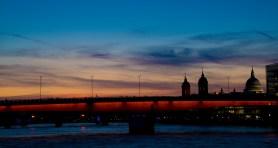 London Bridge Sunset