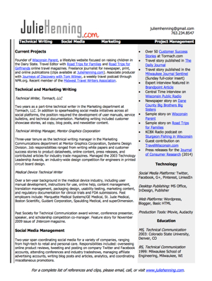 Resume Cover