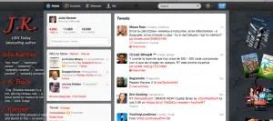 Julie Kenner's Twitter Screen