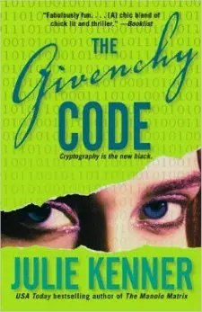 The Givenchy Code - Mass Market Paperback Cover
