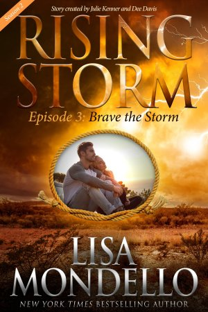 Brave the Storm - Trade Paperback Cover