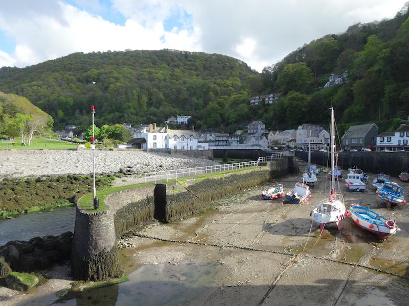 Harbor at low tide