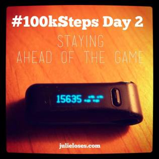 100k Steps Day 2