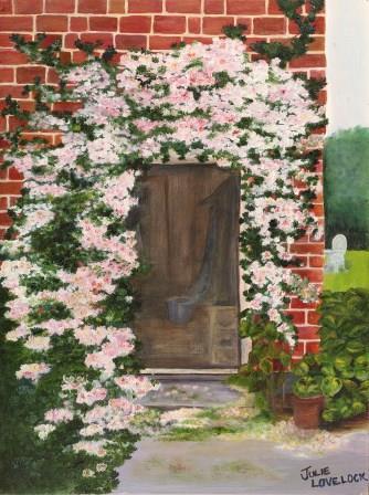 Donna's Doorway | Oil on Canvas by Julie Lovelock