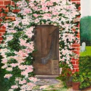 Donna's Doorway | Oil on Canvas by Julie Lovelock