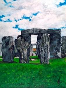 The Henge | Oil on Canvas by Julie Lovelock