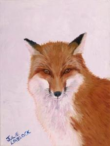 The Thought Fox | Oil on Canvas by Julie Lovelock