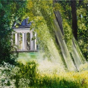 A Peaceful Spot | Original Oil by Julie Lovelock