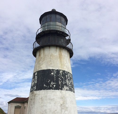 Picture of Cape Disappointment Lighthouse. Photo by Julie Manthey