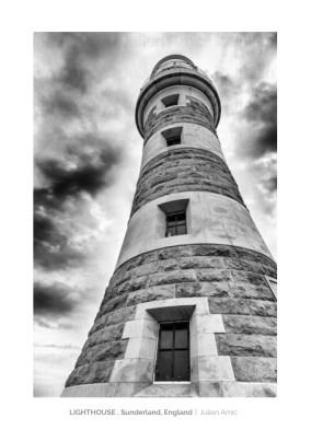 Lighthouse in Sunderland, Julien Amic