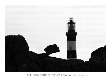 Gollum - Phare du Créac'h - Ouessant - Julien Amic