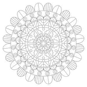 Mandala Adult Coloring Book: The Light of Christ